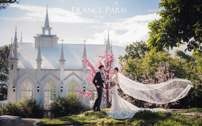 新竹法國巴黎婚紗 婚紗攝影