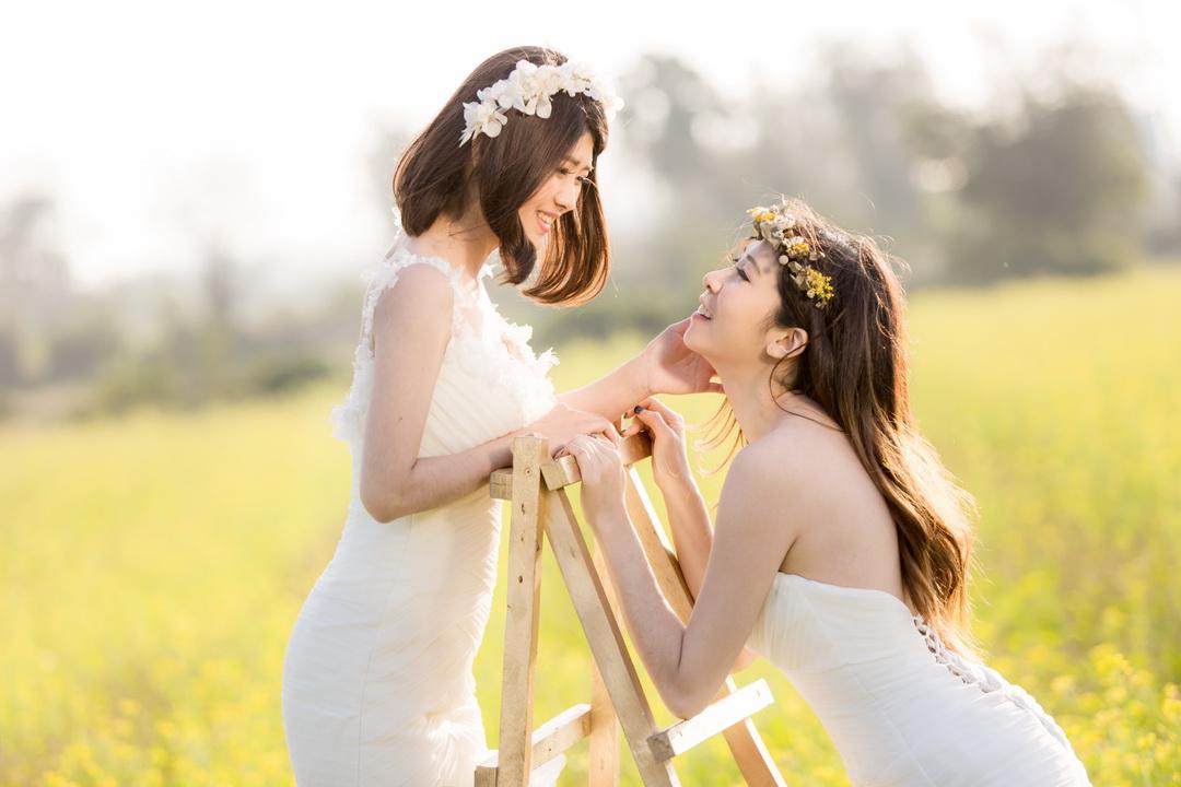 新竹法國巴黎婚紗 閨蜜寫真