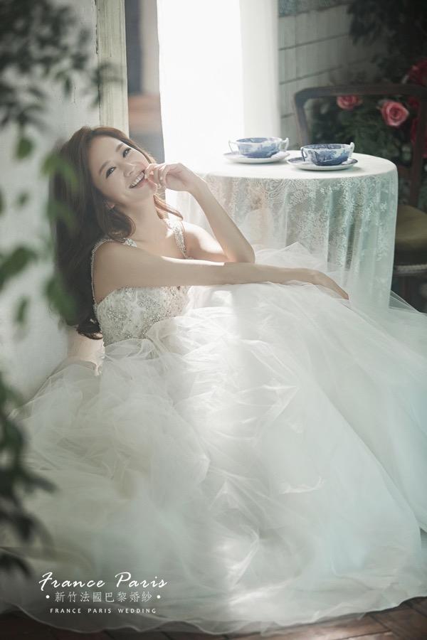 新竹法國巴黎婚紗 6個技巧打造【正韓新娘髮型】