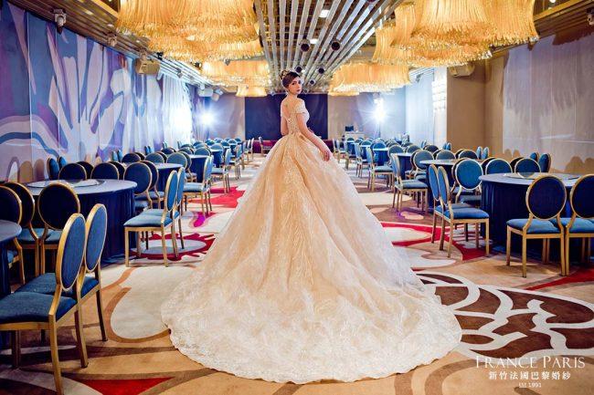 新竹法國巴黎婚紗 禮服