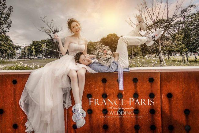氫氧婚紗 新竹法國巴黎